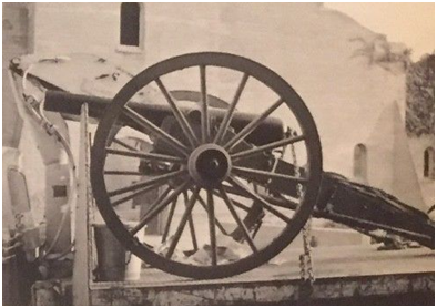 Charlie's cannon